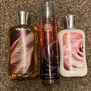 Bath & Body Works Warm Sugar Vanilla